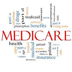 Medicare word graphic
